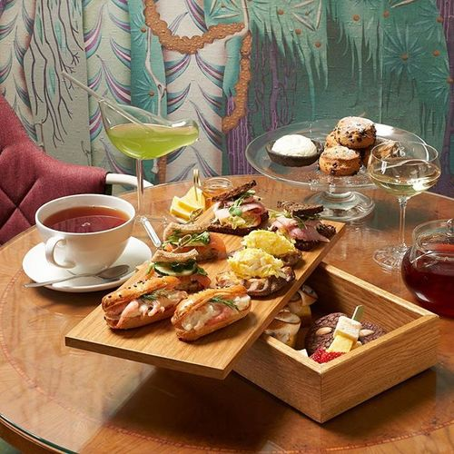 St. George Tea Moments is more than just afternoon tea. Savory bites, sweet surprises - perfect together with tea in Wintergarden's special ambiance. Moments for all senses. . Afternoon Tea is served from Friday till Sunday 1 PM - 5 PM. Pre booking required. . #afternoontea #myhelsinki #teamoments #momentsaremore